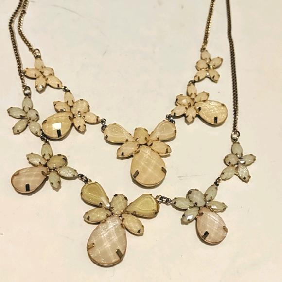 Angels & Butterflies Glittery Necklace
